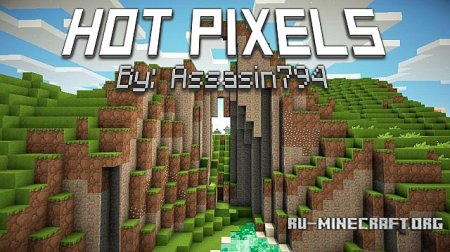 ������� Hot Pixels Returns [16x] ��� Minecraft 1.8.8