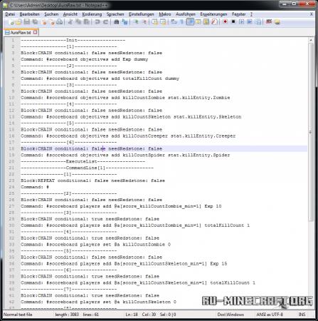 Скачать CommandBlockScript для Minecraft 1.8.1