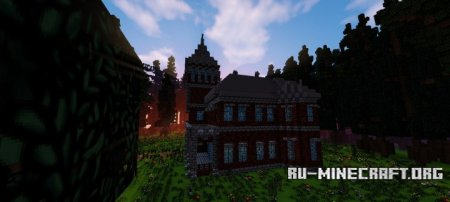 Скачать Wyndcliffe Mansion (Abandoned Series) для Minecraft