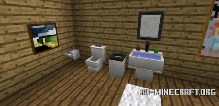 Скачать More Furniture для Minecraft PE 0.13.1