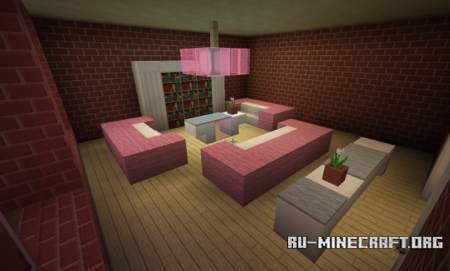 ������� Fully Furnished Home ��� Minecraft