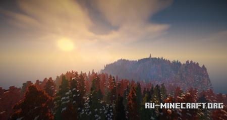 Minecraft sky black скачать