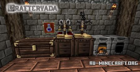Текстур-пак Crafteryada скриншот 2