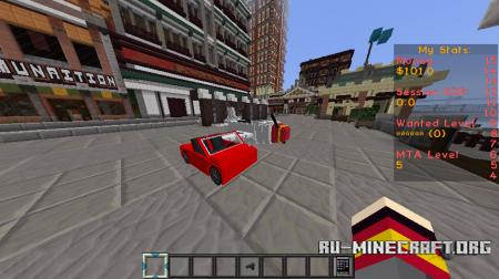 Текстур-пак MineTheftAuto скриншот 2