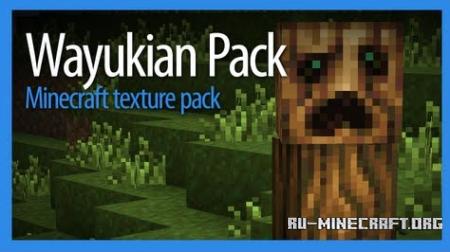 Скачать Wayukian [16x16] для Minecraft PE 0.13.1