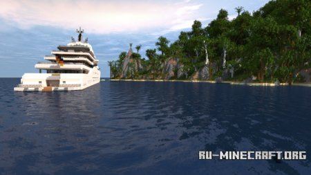 Скачать Eclipse - Megayacht Full Interior для Minecraft