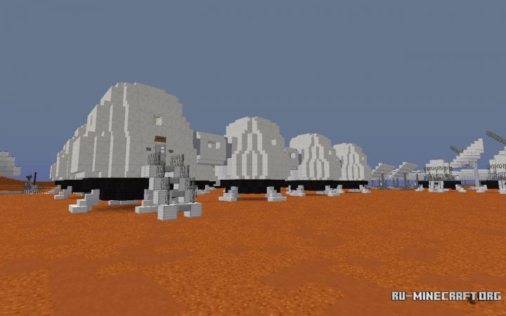 mars base minecraft - 720×450