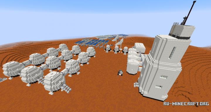 mars base minecraft - 720×384
