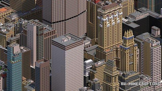Скачать Карту Нью Йорка Для Майнкрафт - фото 7