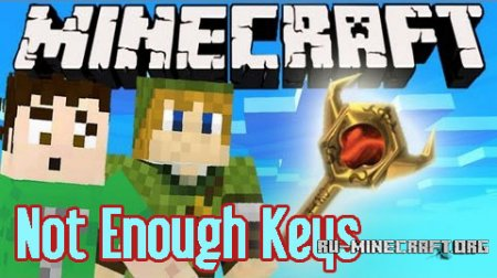Скачать Not Enough Keys для Minecraft 1.8