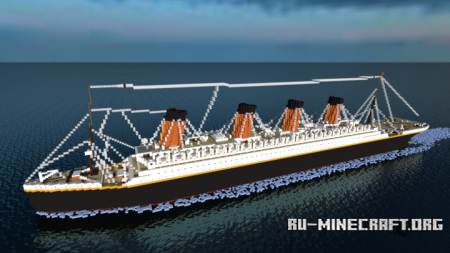 ������� RMS Olympic ��� Minecraft
