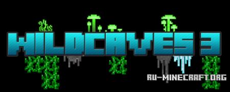 Скачать Wild Caves 3 для Minecraft 1.8