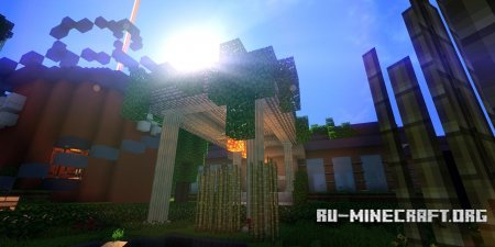 Скачать Ziipzaap's Shader Pack для Minecraft 1.7.10