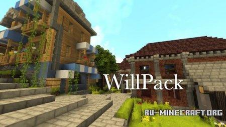 Скачать WillPack [64x64] для Minecraft PE 0.13.1