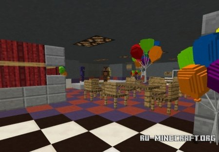 Скачать Five Nights at Freddy's: Location Denmark для Minecraft