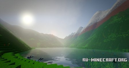 Скачать Mountains of The Titan для Minecraft