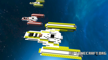 Скачать BTL-B Y-Wing STAR WARS для Minecraft