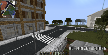 Скачать AE_FRSM More Asphalt Extension! для Minecraft 1.8