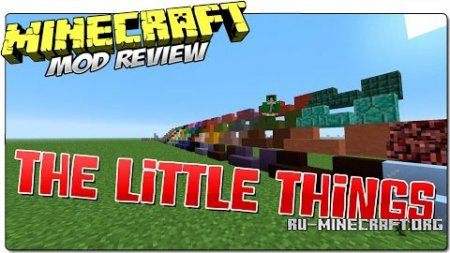 Скачать The Little Things для Minecraft 1.8.9