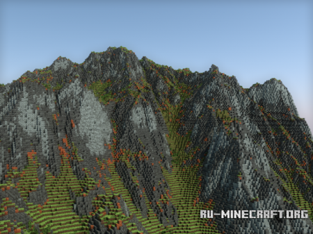 Скачать Heziar Mountains для Minecraft
