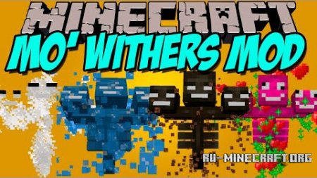 Скачать Mo' Withers для Minecraft 1.8