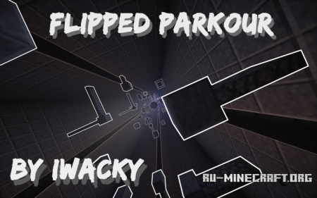 ������� Flipped Parkour ��� Minecraft