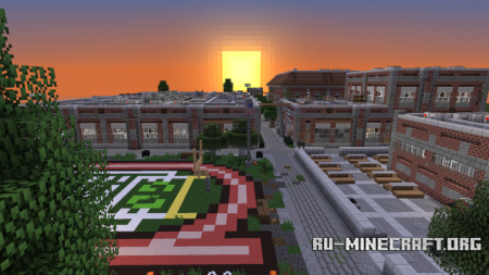 Скачать Asherack High School для Minecraft