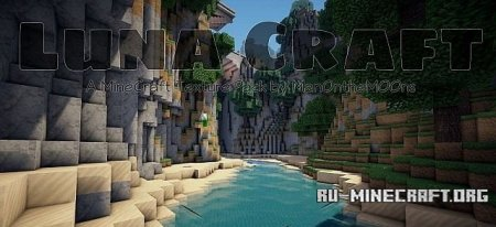 Скачать LunaCraft Photo-Realism [32x] для Minecraft 1.8