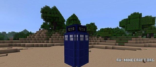 Скачать текстур Пак Доктор Кто для Майнкрафт