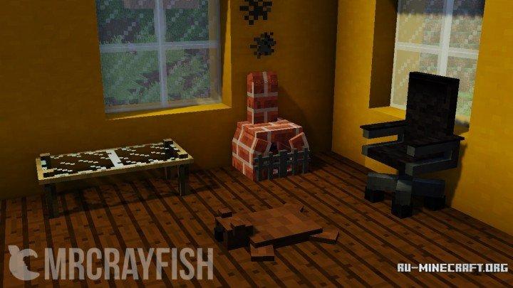 Скачать мод на мебель для майнкрафт | mrcrayfish's furniture 1. 11.