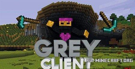 Скачать Grey Client для Minecraft 1.8.9