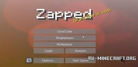 Скачать Zapped для Minecraft 1.8.9