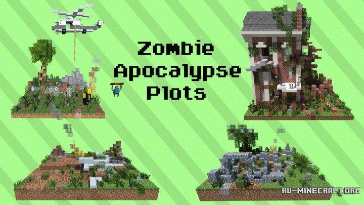 Скачать карту Zombie Apocalypse - Horizon city для Minecraft