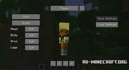 ������� More Player Models 2 ��� Minecraft 1.8.9