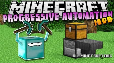 ������� Progressive Automation ��� Minecraft 1.8.9