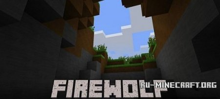 Скачать  Firewolf – The Forgotten [128x] для Minecraft 1.8.8