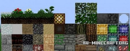 Скачать The Arestian's Dawn RPG Styled [32x] для Minecraft 1.8.8