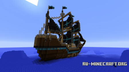 Скачать WhiteStar Pirate Ship для Minecraft