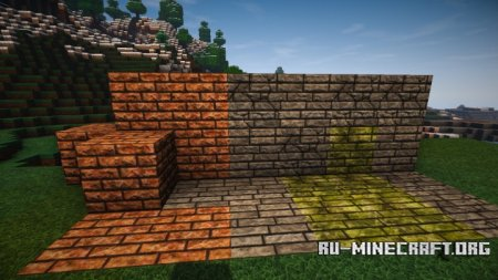 Скачать BufyCraft HD Re-Modeled [128x] для Minecraft 1.9