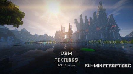 Скачать DEM [128x] для Minecraft 1.9