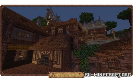������� The Seven Seas [32x] ��� Minecraft 1.8