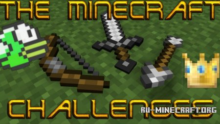 Скачать The Minecraft Challenges для Minecraft 1.8