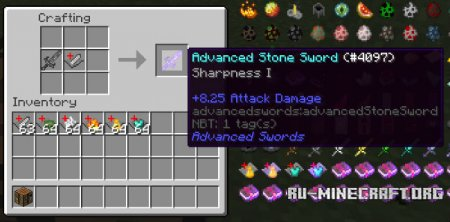 Скачать Advanced Swords для Minecraft 1.8.9