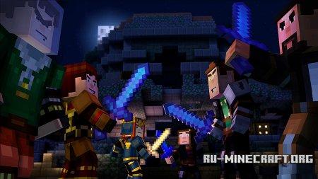 Сражение в Minecraft: Story Mode - Episode 5