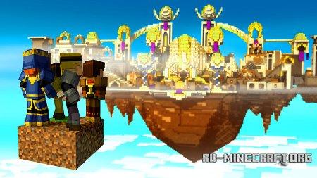 Летающий город в Minecraft: Story Mode - Episode 5