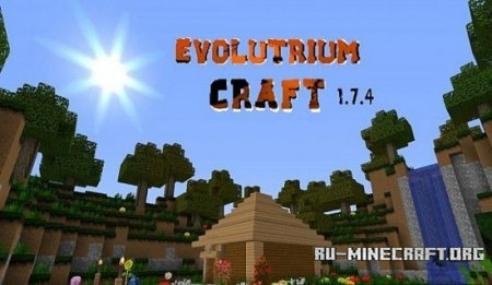 Скачать Evolutrium Craft HD [64x] для Minecraft 1.7.10