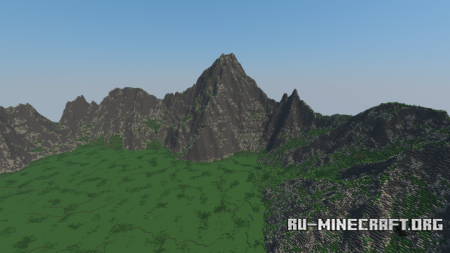 ������� Showcase Terrain | 700 x 700 ��� Minecraft