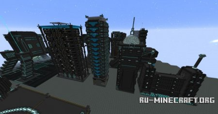 Скачать Norzeteus Space-Buildings для Minecraft