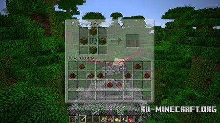 Игрок с надкрыльями и их крафт в Minecraft 1.9.1