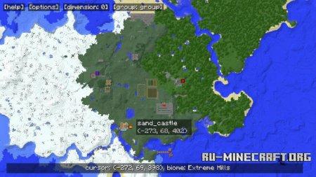 Скачать Mapwriter 2 для Minecraft 1.9